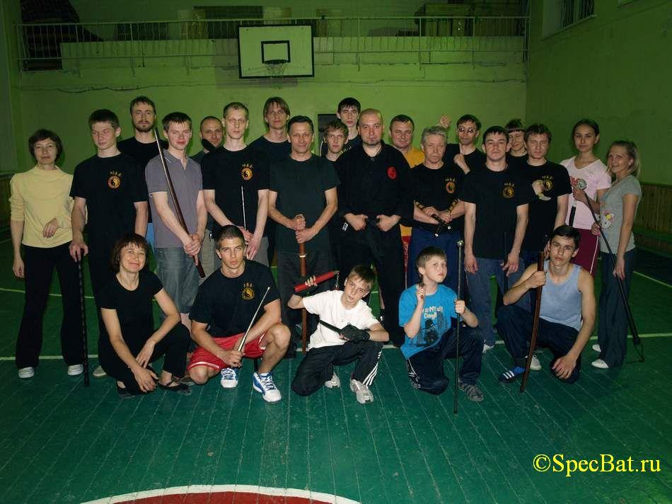 Семинар по средствам самообороны - SpecBat.ru